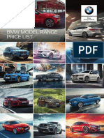 BMW Price List