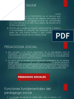 Pedagogía - Social