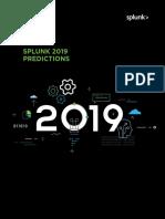 2019 Predictions Splunk