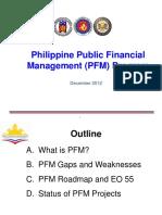 Pfm Status Report