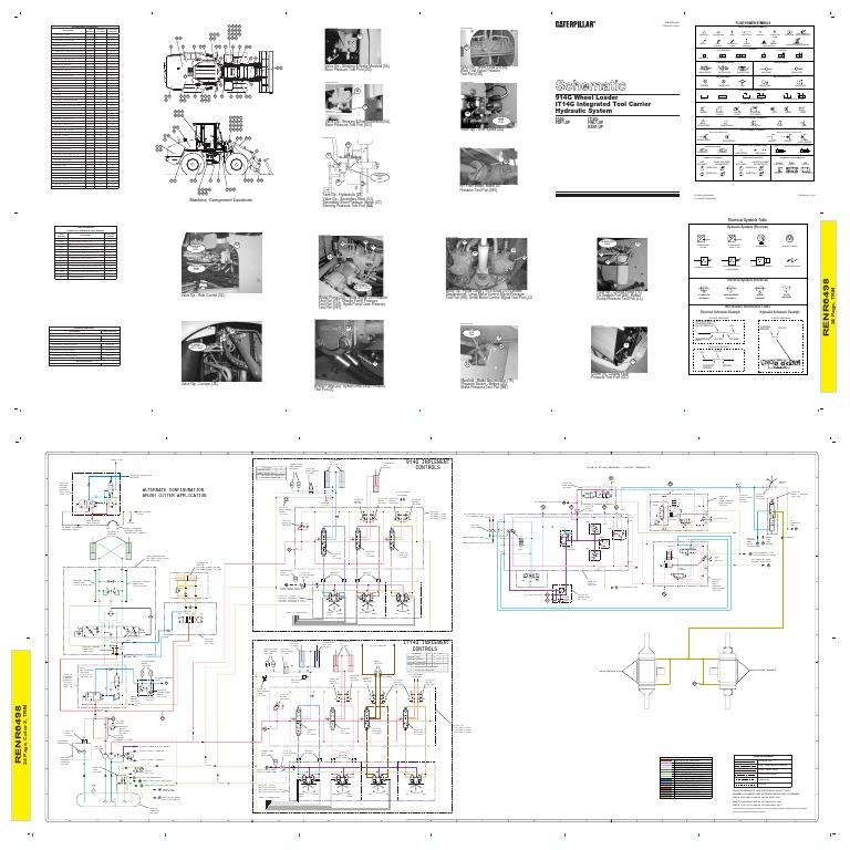 Hydraulic System Schematic 914