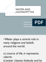 Water and Religion