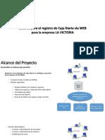Sistema Para El Registro de Caja Diaria Vía WEB Para La Empresa LA VICTORIA