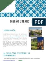 Diseño Urbano Exposicion