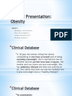 Group 6 Clinical Case Presentation - Obesity