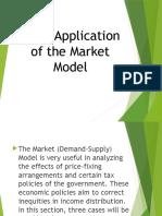 Basic Application of the Market Model
