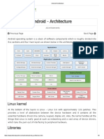 3 Android Architecture