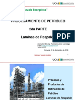 Diplomado Vzla Energetica UCAB Procesamiento de Petroleo 031118 FJL. Parte 2 Respaldo