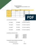 Excel de Taquimetria