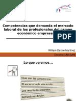 Competencias Que Demanda El Mercado Laboral Para Centro Federado