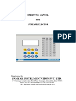 User Manual Stream Selector SS 301
