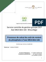 rapport cdg - coût de revient - EZZAHIDI Soufiane.docx