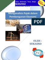 Modul Analisis Pajak Dalam Pembangunan Ekonomi