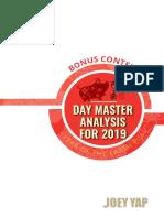 Annual Bonus Content 2019