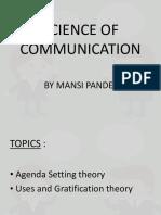 SCIENCE OF COMMUNICATION MANSI PANDEY.pptx