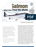 GE Salmon Will Not Feed the World