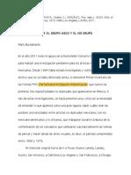 2.1. Maris Bustamante, Sincronias Entre ASCO y NO GRUPO