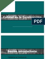 Introduccion Calidad en La Construccion