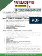 Charla de Seguridad N° 008 Control Consumo de Drogas.ppt