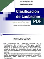 Clasificacion Geomecanica de Laubscher