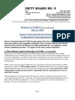 CB9 Resolution Opposing Borough-Based Jails