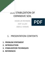Expansive Soil Stabiliazation