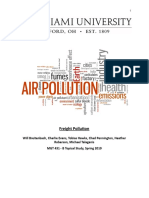 mgt 432 freight pollution report