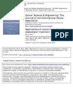 Ozone Science & Engineering