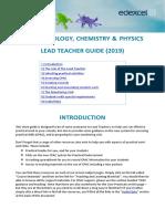 Guide for Lead Teachers