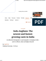 Sajith Pai Indo Anglians the New Fastest Growing Caste