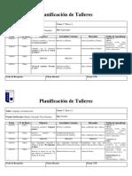 PLANIFICACION TALLERES SEPTIEMBRE OCTUBRE NOVIEMBRE  2018 BARBARA VELIZ.docx
