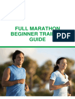 Full Marathon Beginner Training Guide