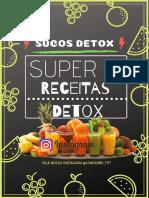 Suco Detox Para sua Rotina e desintoxicação