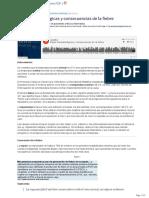 Bases Fisiopatologicas y Consecuencias de La Fiebre