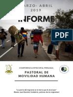 Informe PMH Marzo-Abril 2019