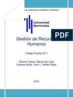 Gestión de recuersos humanos. Araujo Lujan 2019.docx