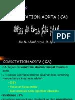 III.7. Coarctation Aorta