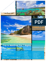 Trip to Maldives for 7 Nights 139