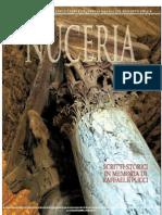 Nuceria - Scrtti Storici in Memoria Di Raffaelel Pucci