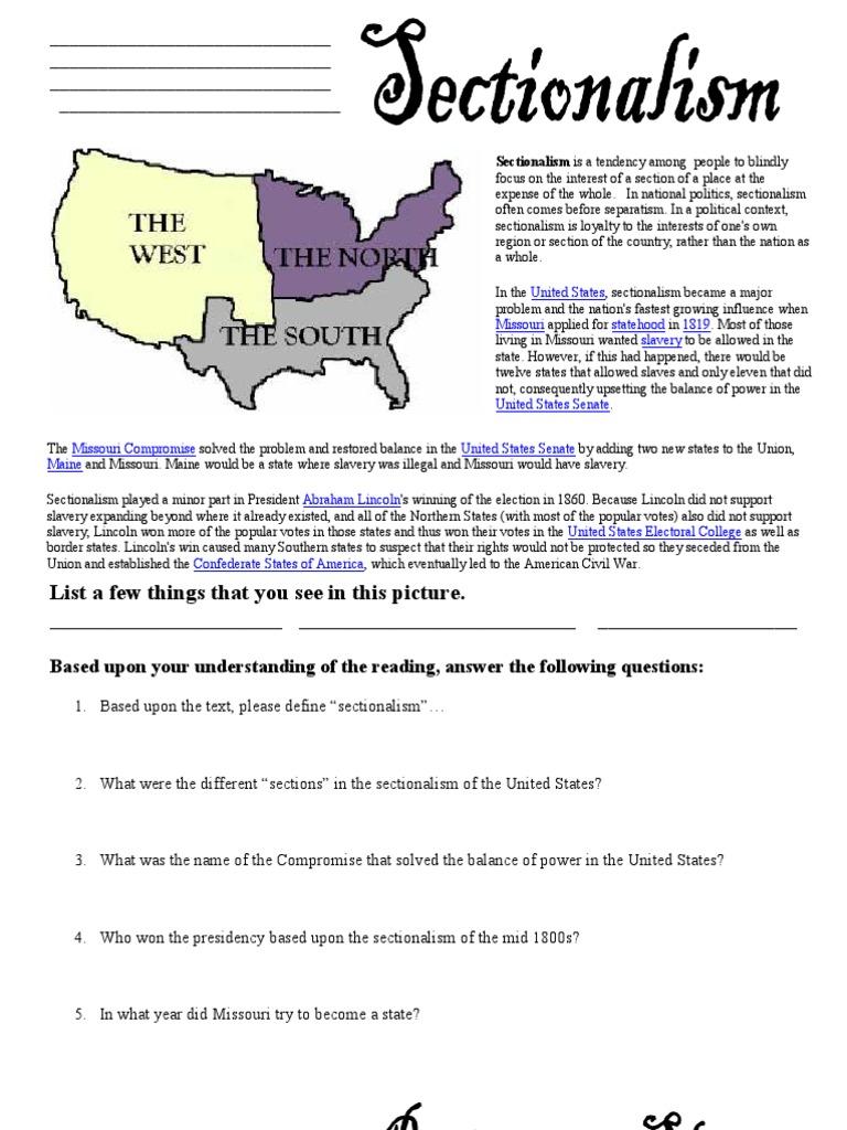 worksheet Causes Of Civil War Worksheet microsoft word civil war worksheets slavery in the united states confederate of america