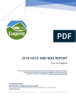 2018 Hate and Bias Report