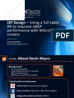 Using a Full Table RR to Improve EBGP Performance With Mikrotik Routers