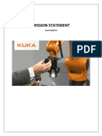 Kuka Robots (Mission Statement)