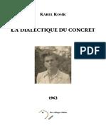 Karel Kosik - La Dialectique du concret-Les Éditions de la Passion (1993).pdf