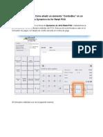 Retail POS [AX2012] _ Como Añadir Un Elemento _ComboBox_ en Un Formulario Estándar de Dynamics Ax for Retail POS