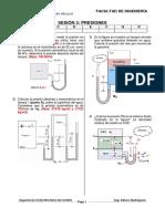 Sesión 3 FLUIDOS Ecuación General de La Hidrostática Ejercicios