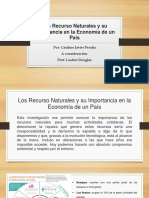 Los Recurso Naturales y Su Importancia en La