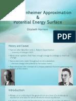 Born-Oppenheimer presentation