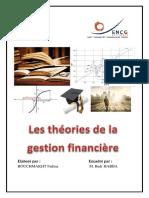 Les Théories de La Gestion Financière
