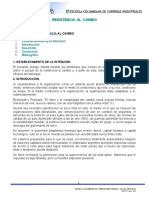 3. Resistencias Al Cambio